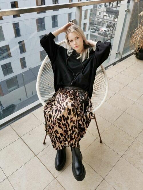 spódnica w panterkę Wiya