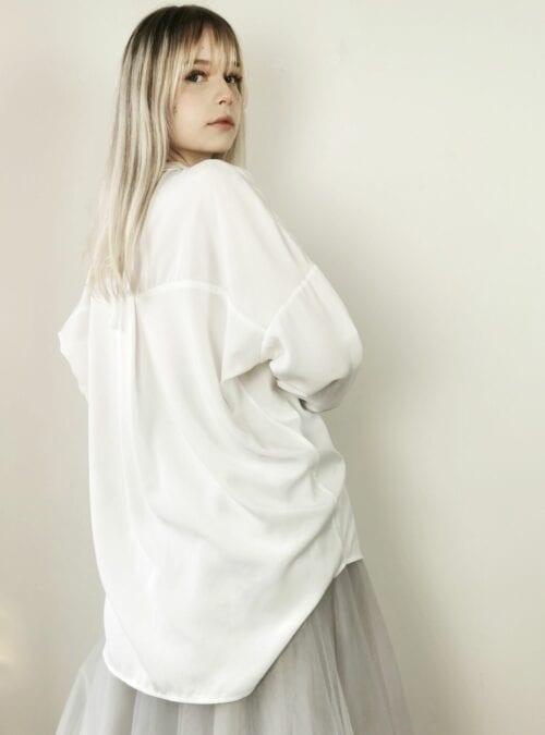 koszula długa asymetryczna