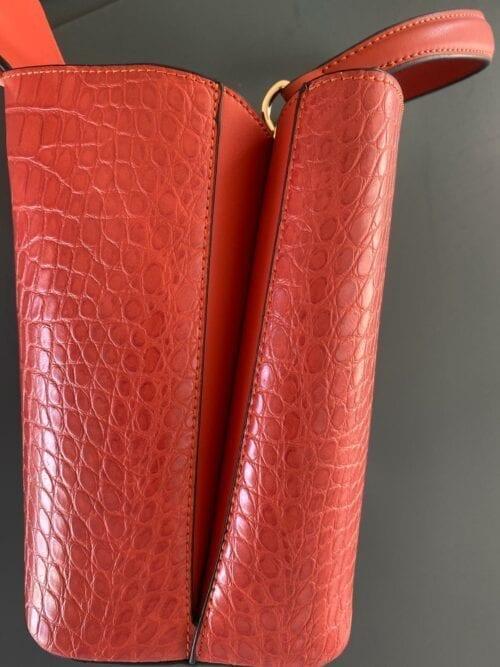 torebka szoper czerwona ceglana