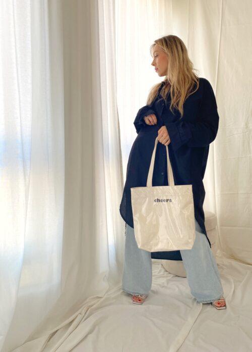 torebka szoper biała typu plastic bag